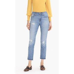 J. Crew vintage straight leg eco medium wash jeans